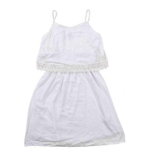 Sukienka BLEND SHE - Hope Bright White (20004), kolor biały