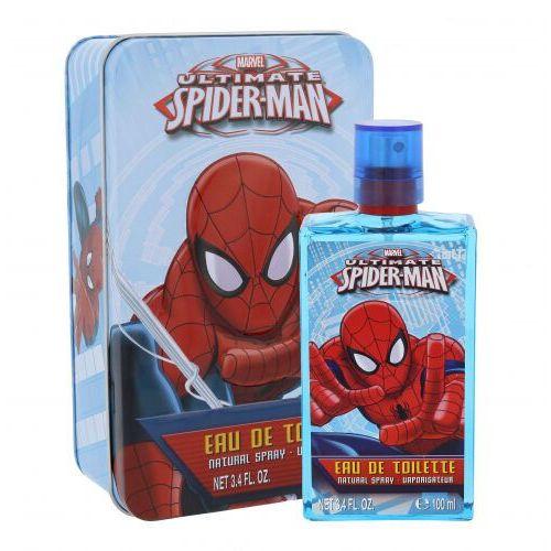 Marvel Ultimate Spiderman zestaw Edt 100 ml + Metalowe pudełko dla dzieci - Bombowa oferta