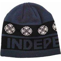 czapka zimowa INDEPENDENT - Woven Crosses Denim Denim (DENIM)