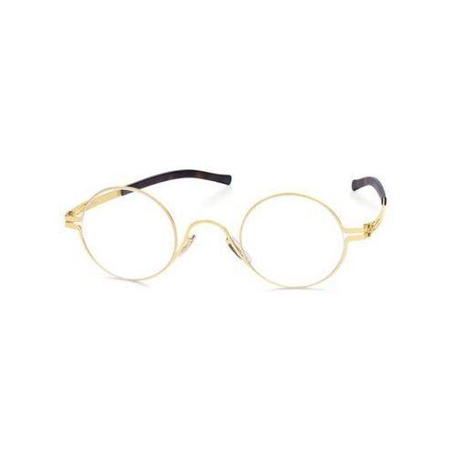 Ic! berlin Okulary korekcyjne m1313 mariusz b. matt-gold