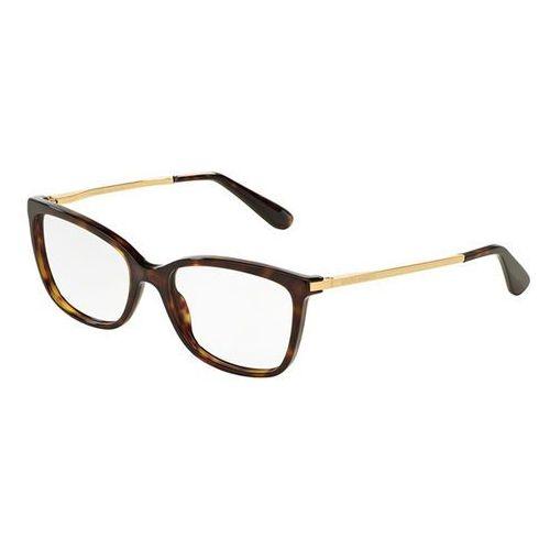 Dolce & gabbana Okulary korekcyjne dg3243f asian fit 502