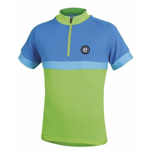 Etape koszulka rowerowa bambino 140/146 green/blue