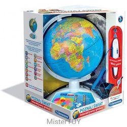 Interaktywny eduglobus poznaj świat uczę się bawiąc reklama - szybka wysyłka - 100% zadowolenia. sprawdź już dziś! marki Clementoni