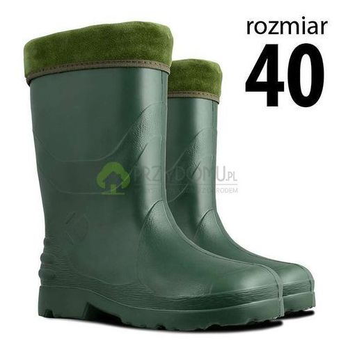 Kalosze EVA damskie zielone rozm.40, kolor zielony