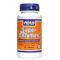 Tabletki NOW Foods Super Enzymes- Mieszanka enzymów, 90 tabl - 90 tabletek