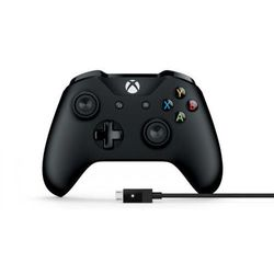 MICROSOFT Kontroler Xbox One + kabel PC Bluetooth