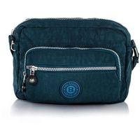 Pojemna torebka miejska 2223 niebieska