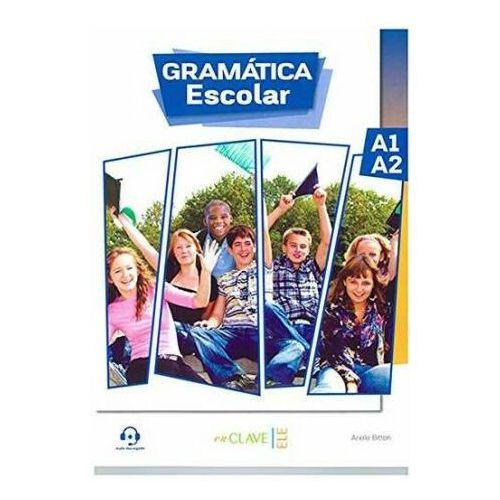 Gramatica Escolar A1/A2 + audio do pobrania, oprawa miękka