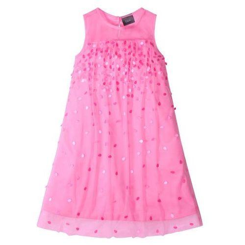 a285a3d8cf9cf ▷ Sukienka na party, z cekinami jasnoróżowy (bonprix) - opinie ...