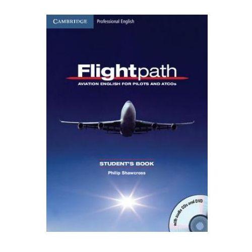 Flightpath. Aviation English For Pilots And ATCOS Książka Ucznia Plus Płyty Audio CD i DVD, Philip Shawcross