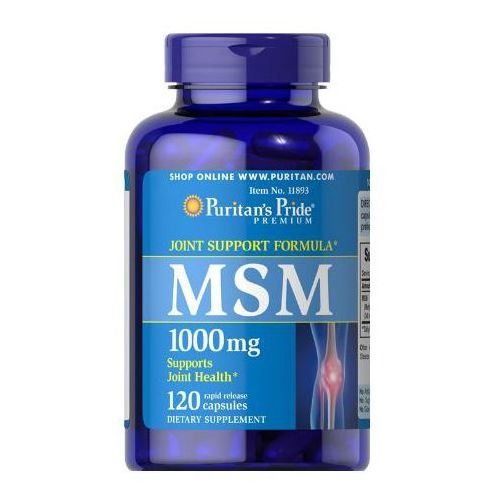 MSM 1000mg 120 kaps.
