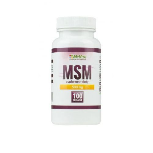 Tabletki MSM Myvita 100 tabletek