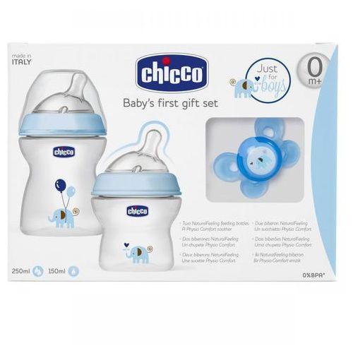 Chicco Zestaw do karmienia dla niemowląt 0m+ Zestaw do karmienia 0m+ niebieski