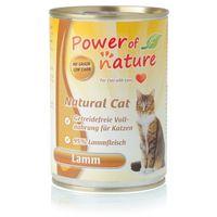 Power of Nature Natural Cat jagnięcina karma dla kotów w puszce 400g