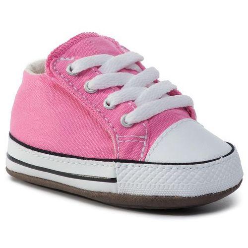 Tenisówki CONVERSE - Ctas Cribster Mid 865160C Pink/Natural Ivory/White, kolor różowy