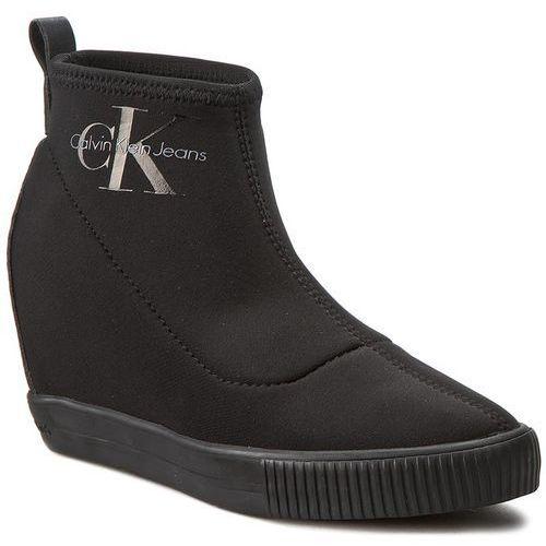 3b59bb1c5be59 ▷ Botki JEANS - Sole RE9774 Black (Calvin Klein) - ceny,rabaty ...