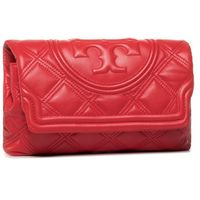 Torebka TORY BURCH - Fleming Soft Clutch 59690 Brilliant Red 612