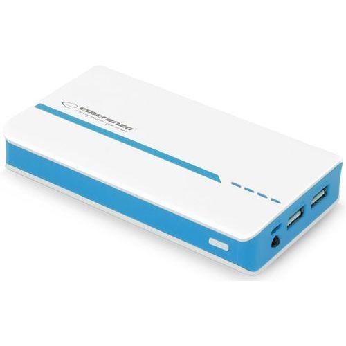 power atom 11000mah biało-niebieski darmowa dostawa do 400 salonów !! marki Esperanza