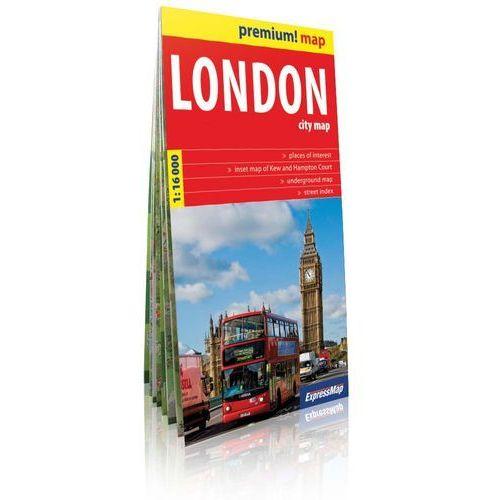 Londyn / London plan miasta 1:16 000 (9788375462821)