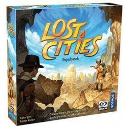 Lost cities: pojedynek. gra karciana marki Galakta
