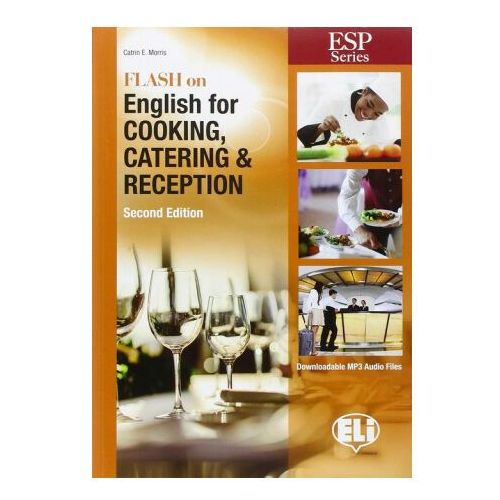 Flash on English for Cooking, Catering & Reception New Edition + MP3 (9788853622129)