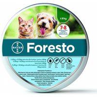 Bayer Obroża biobójcza Foresto dla psów i kotów o wadze poniżej 8kg dł. 38cm, 4381