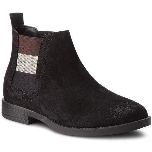 a330a473aeed4 Tommy Jeans Sztyblety TOMMY JEANS - Essential Chelsea Bo EN0EN00305 Black  990