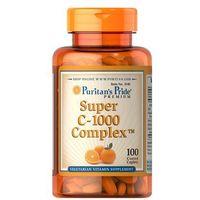 Tabletki Puritan's Pride Super Witamina C-1000 Complex 100 tabl.