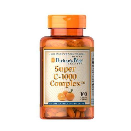 Tabletki Puritan's Pride Super Witamina C-1000 Complex 100 tabl