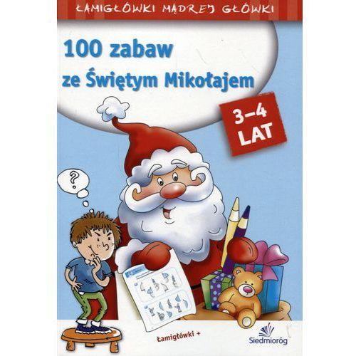 100 Zabaw ze Świętym Mikołajem - Praca zbiorowa (2018)