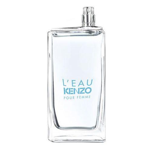 Kenzo l'eau kenzo pour femme woda toaletowa 100 ml tester - 100 ml tester (3274872333932)