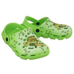 AXIM 2KL7092 zielony, croksy klapki dziecięce rozmiary: 24-29 - Zielony, kolor zielony