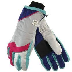 Rękawiczki narciarskie dla dzieci Scorpio - Szary ||Kolorowy, kolor szary