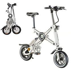 """Składany rower elektryczny x3 12"""" - model 2017, czarny marki Devron"""