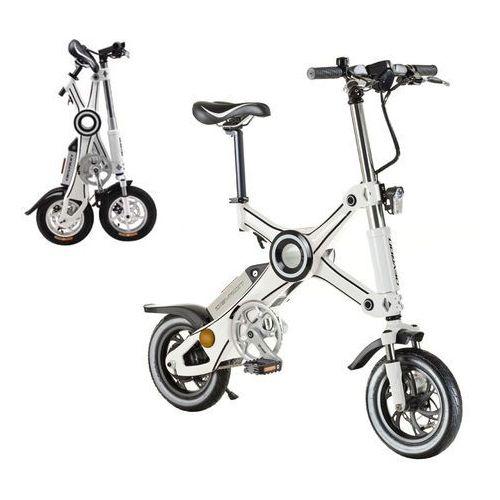 """Składany rower elektryczny Devron X3 12"""" - model 2017, Czarny (8596084064974)"""