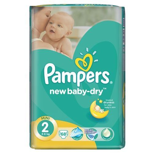 Pieluchy new baby dry 2 mini (68 szt.) Pampers