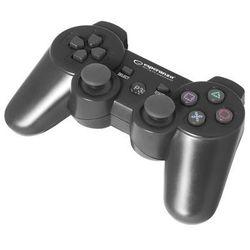 """Gamepad bezprzewodowy Bluetooth PS3 Esperanza """"Marine"""" czarny, EGG109K"""