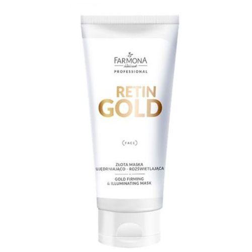 Farmona RETIN GOLD Złota maska ujędrniająco-rozświetlająca - Promocyjna cena