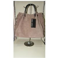 RIPANI torebka skóra naturalna GARDENA NN shopper bag w stylu boho, 1754