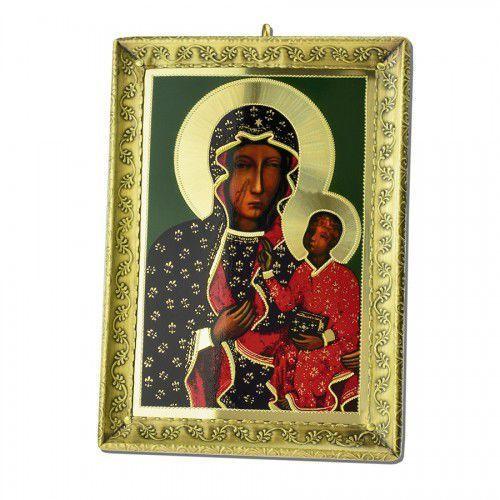 Metalowa ikona Matki Bożej Częstochowskiej, UR754