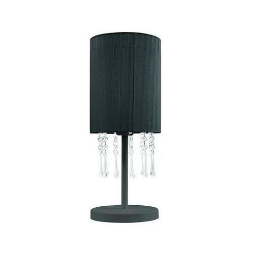 Lampa Stołowa Wenecja Czarna Czarny Lampex