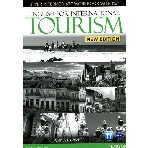English for international tourism upper-intermediate Workbook with key + CD, oprawa miękka