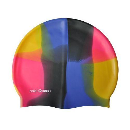 Czepek silikonowy pływacki dla dorosłych - Wielokolorowy