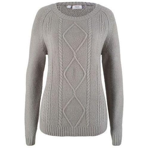 Sweter z dłuższymi bokami, długi rękaw bonprix ciemnoniebieski, w 6 rozmiarach