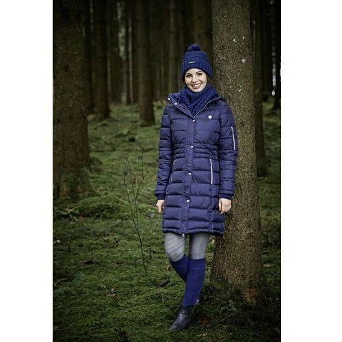 zimowy płaszcz damski Covalliero A/W 2020 - granatowy, M (38), zimowy
