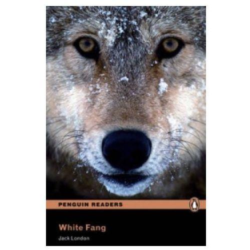 Penguin Readers, Poziom 2: White Fang Book with MP3 Audio CD, oprawa miękka