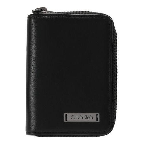 Calvin Klein ANDREW MINI ZIPAROUND Portfel black