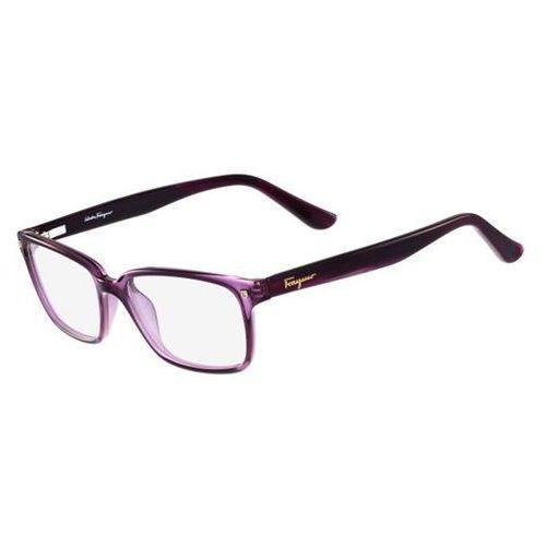Salvatore ferragamo Okulary korekcyjne sf 2733 500