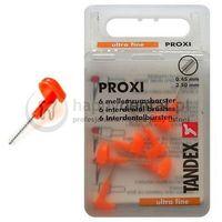 proxi 6 końcówek 0.45-2.5mm (pomarańcz) - pudełko 6 końcówek międzyzębowych (ultra-fine) marki Tandex
