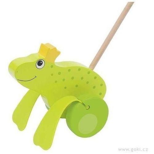 Zabawka do pchania Żaba - zabawki dla dzieci